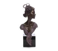 Ascot Glamour by Sherree Valentine Daines - Bronze Sculpture sized 6x12 inches. Available from Whitewall Galleries